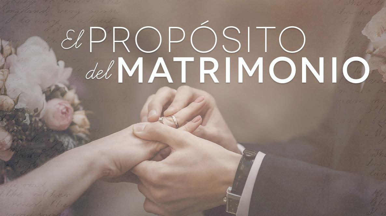 Pablo Matrimonio Biblia : El propósito del matrimonio integridad sabiduría