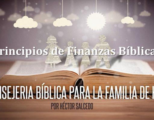 Principios de finanzas bíblicas