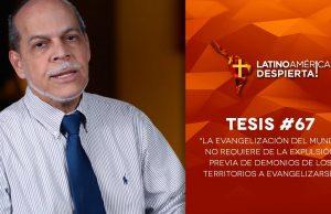 Tesis 67 Evangelización no requiere la expulsión previa de demonios en territorios a evangelizarse